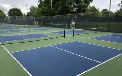 20th Street Pickleball Courts Reopening