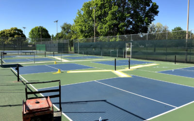 20th Street Pickleball Courts Resurfacing – April 19th