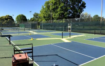 20th Street Pickleball Courts Resurfacing – April 19th