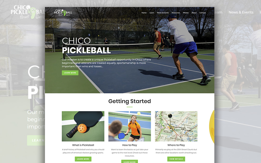 Chico Pickleball Website