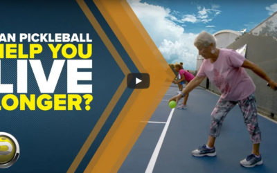 Live a Longer, Healthier Life Playing Pickleball