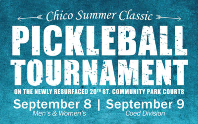 Chico Pickleball Tournament – September 2018