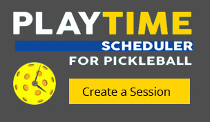 pickleball playtime scheduler