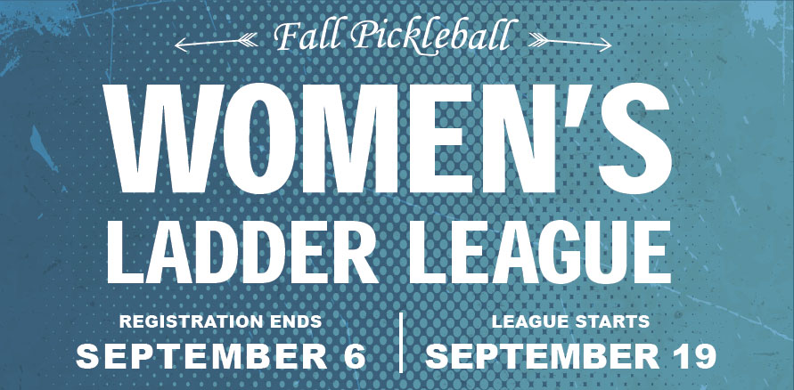 Women's Pickleball Ladder League Fall 2019